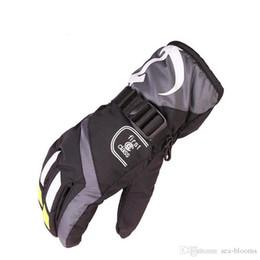 Ski Motorcycle NZ - Women Men Youth Unisex Outdoor Motorcycle Cycling Winter Sport Gloves Waterproof Skiing Snowboarding Ski Warm Gloves Christmas Gift H904R