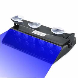 $enCountryForm.capitalKeyWord Australia - Mansuo Emergency Lights, 16 Flashing Modes Bright Blue LED Warning Strobe Lighting for Vehicle Dash Windshield, Black