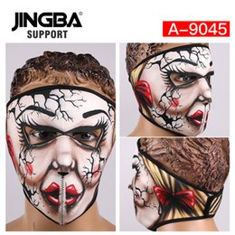 $enCountryForm.capitalKeyWord Australia - JINGBA SUPPORT Windproof Full Face Facemask Riding bike mask Outdoor sport ski mask Halloween Skull Cool Dropshipping