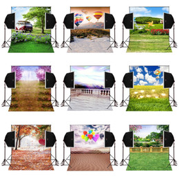 Balloons Backdrop online shopping - 5x7FT lovey balloons outdoor scenic vinyl photography backdrops for wedding photos camera fotografica digital sudio prop photo background
