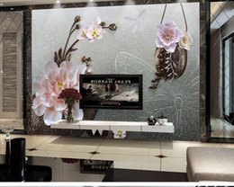 $enCountryForm.capitalKeyWord Australia - Custom Any Size 3D Mural Wallpaper Small Any Floral Relief TV Background Wall Decoration Mural Wallpaper