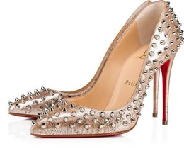 d1ec87486e2 Christian Red Bottom Shoes UK - Christian Louboutin CL Fashion luxury  designer red bottoms high heels