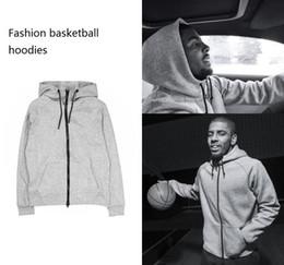 BasketBall standards online shopping - New Thin Basketball Sportwear Men Women Hoodies Sweatshirts Hoodie Tracksuit Black and Grey For Autumn Winter