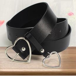 Beaded Belts For Wedding Dresses Australia - Fashion PU Leather for Women Metal Heart design Buckle Corset Belt Wedding Party Dress Decor Waistband Ladies Belts 105cm C19010301