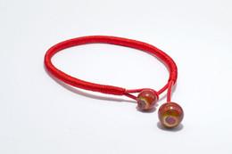 $enCountryForm.capitalKeyWord Australia - Minimalist Handmade Round String Ceramic Bead Rope Bracelets For Women Man Bohemian Punk Red Black Color Fashion Bangles Jewelry