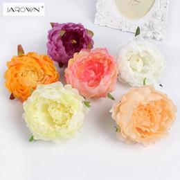 $enCountryForm.capitalKeyWord Australia - DIY artificial peony flower heads Multicolor Road lead wedding flower Bouquet hotel background wall decor C18112601