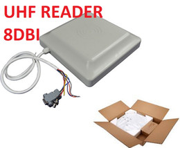 China 8Dbi Antenna UHF Rfid Reader US EU 900MHZ Integrated Passive Long Reading Distance Reader RS232 WIFI interface for Parking Access Control cheap rfid reader rs232 suppliers