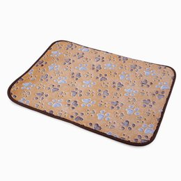 Small Coolers Wholesale NZ - Light coffee|Pet Dog Mat,Pet Dog Cooling Mat,Pet Kennel Dog Sleep Bed Cat Comfortable Padded Soft Mat
