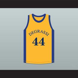 Venta al por mayor de nfernee anti detener el ejercicio transpirable Hardaway Butch McRae 44-45 Universidad del Oeste de Baloncesto Jersey blanco con papas azules
