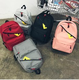 $enCountryForm.capitalKeyWord NZ - casual canavs Devil eyes Fashion backpack hiking leisure travel large capacity men and women backpack