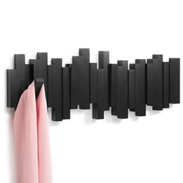 $enCountryForm.capitalKeyWord Australia - Imaginatively decorated plastic hooks wall coat hanger coat rack clothes hanger American family wall type pianos row