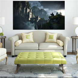 $enCountryForm.capitalKeyWord Australia - The Witcher 3 Wild Hunt Wall Art Canvas Posters Oil Painting Wall Pictures For Bedroom Home Decor