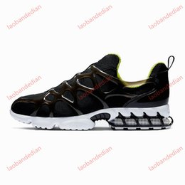 caged shoes UK - spiridon kukini caged 2 fossil men women running shoes triple white bright cactus mens trainers sports sneakers runners size