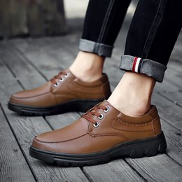 $enCountryForm.capitalKeyWord Australia - Wild2019 Code Will Genuine Outdoors Work Clothes Round Head Casual Manual Thick Bottom Man Leather Shoes Male