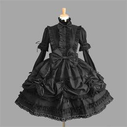 $enCountryForm.capitalKeyWord Australia - Female Princess Halloween Victorian Gothic Lolita Costume Lady Maid Layered Dress Cosplay Games Q190521