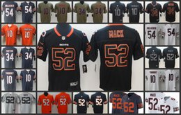 Chicago Bears Men Football Jersey  52 khalil Mack 10 Mitchell Trubisky 54  Brian Urlacher 34 Walter Payton Women Youth Jerseys 5a82d5e52