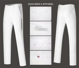 Vente en gros Hommes Pantalons Golf Sports Pantalons tout-automne coréenne Slim Pantalons correspondent longues Vêtements printemps Golf 4 couleurs Hommes Marque