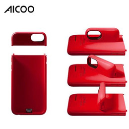 Retail packaging foR cell phone cases online shopping - External Battery Backup Power Bank Charger Cover Magnet Phone Holder Case Cell Phone Powerbanks for iPhone Plus retail package