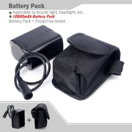 $enCountryForm.capitalKeyWord Australia - Free Shipping 18650 Bike 8.4v 10800mah 6x18650 Battery Pack For Led Bicycle Lights With Pouch C19041301