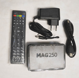 linux set top box Australia - New MAG250 STI7105 Firmware R23 Set Top Box Same as Mag322 MAG420 Linux System streaming Linux TV Box Media Player