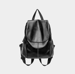 Genuine Leather Backpacks For Women UK - Genuine Leather Backpacks Fashion  Women Backpack Leather Female Travel a46e891826e59