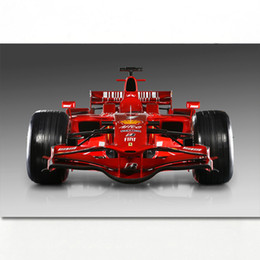$enCountryForm.capitalKeyWord Australia - Formula 1 Ferraris F2008 Race Car Racing Vehicles Wall Art Posters and Prints Canvas Art Framed Paintings For Room Decor