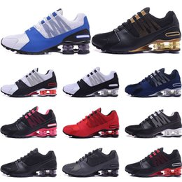 Colorful womens shoes online shopping - Designer Shoes R4 NZ Mens Womens Running shoes black red gold blue white Pink colorful Athletic Trainers Sports Sneakers size