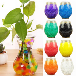 $enCountryForm.capitalKeyWord NZ - 10Bags 1000pcs Multicolors Crystal Soil Plant Flower Jelly Mud Water Beads for Plants Pearls Vase Soil Gel Balls Home Decoration