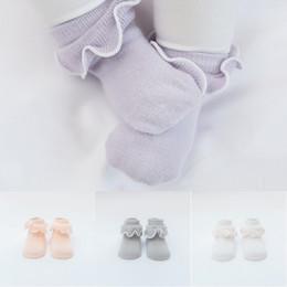 $enCountryForm.capitalKeyWord NZ - Cute Fungus Lace Baby Girls Princess Socks Cotton Socks Boneless Anti-slip Toddler Summer Spring Autumn Short Socks