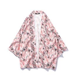 $enCountryForm.capitalKeyWord Australia - #4280Summer Japan Korean Style Shirt Men Kimono Yukata Fashion Costume Traditional Male Female Japanese Kimonos Casual Loose Top