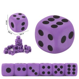 funny blocks Australia - Math Toys Specialty Giant Eva Foam Playing Dice Block Xmas Party Toy Game Prize For Children Party Funny Interesting Board Toys