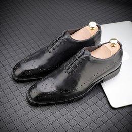 Big Size 47 Homens Italianos Sapatos de Vestido derby brogue Blucher lace up Sapatos Gents Outfit Festa de Casamento gernuine Couro Masculino l5