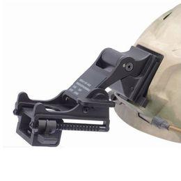Helmet fast online shopping - Tactical Fast MICH Helmet NVG Mount for Night Vision Monocular PSV or PVS Black