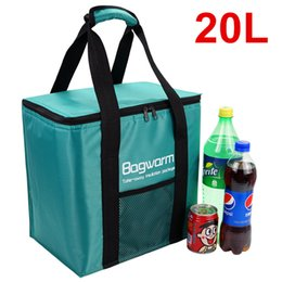 picnic ice packs Australia - 20L Cooler Bag Insulation package thermo ThermaBag refrigerator Car ice pack picnic Large cooler bags insulation thermal