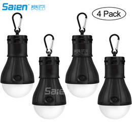 $enCountryForm.capitalKeyWord Australia - LED Camping Lantern, [4 Pack] Portable Outdoor Tent Light Emergency Bulb Light for Camping, Hiking, Fishing,Hurricane, Outage