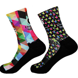 $enCountryForm.capitalKeyWord Australia - Champion System Printing Cycling Socks for Men and Women Pro Outdoor Sports Socks Semi-high Breathable Bicycle Riding Socks Fancy Hose