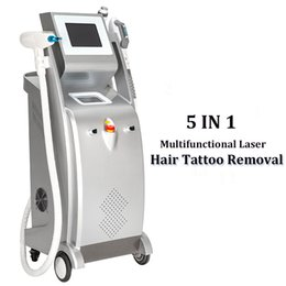 hair removal treatment Canada - 2020 IPL Laser Scar Acne Removal Machine OPT SHR Elight Laser Hair Removal 3 Handles Elight RF Nd Yag Laser Acne Scars Treatment
