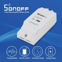Real Camera Australia - Sonoff Pow R2 Smart Wifi Switch Controller With Real Time Power Consumption Measurement 16A 3500w Smart Home Automation Device