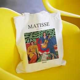 $enCountryForm.capitalKeyWord Australia - Matisse summer large capacity casual women canvas printing school bag book fashion Harajuku letter shoulder bags shopping bag