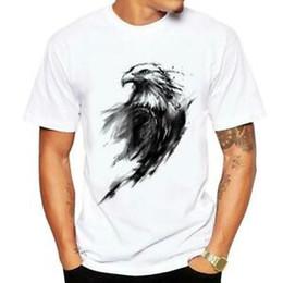 $enCountryForm.capitalKeyWord Australia - Men T shirt Wolf Cat Panda Eagle 3D Print Tee Shirt Casual White T-Shirt Tops
