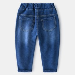 Soft Jeans Australia - New Spring Style Pure Color Water-washed Soft Jeans Pants Wholesale From China