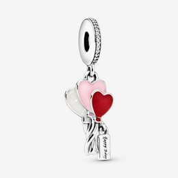 pandora baby Australia - Fit Pandora Bracelet Charm Happy Baby Balloon Dangle Sterling Silver 925 Original Authentic Jewelry European DIY Making Beads New For Women