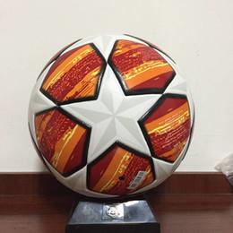 2019 Ligue des champions européens Ballon de football taille PU 5 balles Granules antidérapant Football Coupe du monde Football Angleterre Ligue Ballon de football