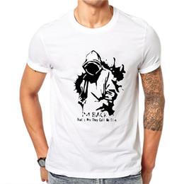 $enCountryForm.capitalKeyWord Australia - Eminem T Shirt Men Character Tshirt Music T-shirt Punk Rock Tee Funny T Shirts Cool Mens Clothing 2019 Casual Tops Streetwear