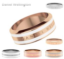 Nova Daniel Wellington DW Anéis De Aço Inoxidável 316L Todo o Aço Disponível Relógios de Quartzo 36 40 32 MM Man Anel Mulher Atacado Anillo venda por atacado