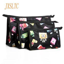$enCountryForm.capitalKeyWord Australia - wholesale Travel Set Cosmetic Bag Cartoon Organizer Pouch Three-piece Bag Necessaries for Women Makeup Kit Beautician for