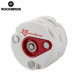 Foldable Bike Electric NZ - RockBros Bike Antitheft Lock Bicycle Foldable Chain Lock Motorcycle Electric Bicycle High Security & Drill Resistant Cylind #122474