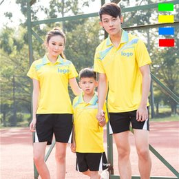 Sportswear T Shirt Badminton Australia - C6 Li-Ning Badminton Suit Sportswear for Men & Women & Kids Short Sleeve T-shirt Leisure Running Basketball casual wear Table tennis LN1679