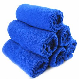 towels for dogs NZ - New Solid Dry Hair Towels Pet Supply Fast Drying Grooming Microfiber Towel Blanket for Pet Dog Cat Random Colors Pets Acessorios