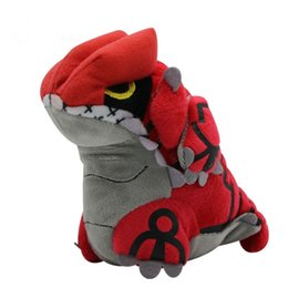 $enCountryForm.capitalKeyWord UK - Groudon Plush Toy Kids kawaii Soft Stuffed Cartoon Movies TV Toys Dolls for Wedding Birthday Party Christmas Decoration